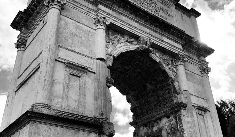 L'arco Trionfale più antico del Foro Romano
