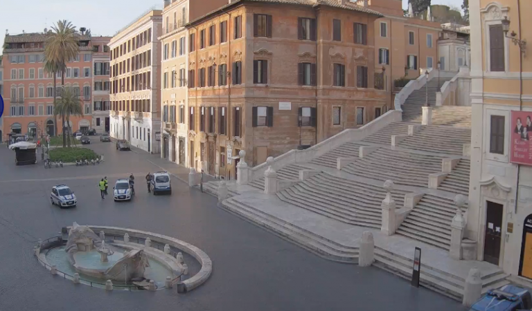 Roma silenziosa al tempo del coronavirus