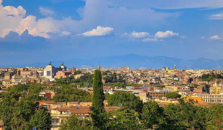 Finestra su Roma – Villa Sciarra